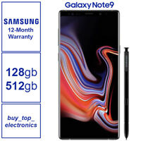 NEW Samsung Galaxy Note 9 128GB/512GB SM-N960F AUS STOCK 12 Months warranty