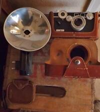Argus C3 Camera Outfit: Camera, Flash, Light Meter, Instructions