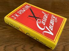 The Casual Vacancy, J K Rowling, First UK Ed, Little Brown, 2012