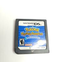 Pokemon Mystery Dungeon: Blue Rescue Team Nintendo DS Authentic Cartridge Only