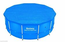 NEW BESTWAY 15ft STEEL FRAME PADDLING SWIMMING POOL PROTECTOR COVER