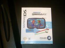 Nintendo DS Super Mario Character Case Essentials Kit 5 Pc Set Brand New