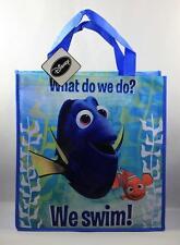 "Disney Pixar Finding Dory Nemo Plastic Tote Beach School Gift Bag ""We Swim"" NWT"