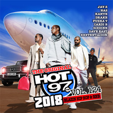 Hot 97 vol. 124 Blazin Hip Hop & RNB Official CD