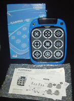 FlashPad connect T34310 touchscreen electronic game with lights blue w battery