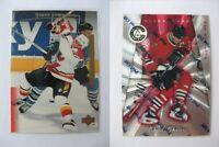 1997-98 Pinnacle Totally Certified #74 Chelios Chris 1820/6199 platinum red  bla