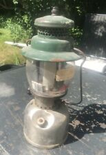 Vintage Coleman lantern 242B 1950 for repair restoration project as is lamp