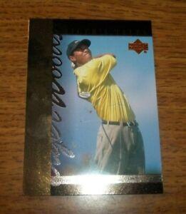 """2001 Upper Deck Golf Tiger Woods """"Tiger's Tales"""" #TT16"""