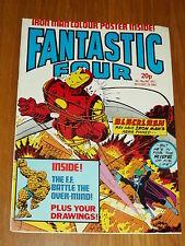 FANTASTIC FOUR #13 MARVEL BRITISH WEEKLY 29 DECEMBER 1982 IRON MAN