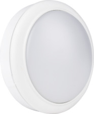 5 Pieces of IP65 Bulkhead 15W LED 6500K Daylight Frosted Opal Cover 18mm Round