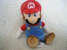 """Nintendo Sanei Super Mario Bros Soft Plush Toy Figure 8"""" Mario *New* NWT"""