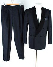 WILVORST Smoking Gr 102 Wolle Hochzeitsanzug Anzug Sakko Hose Suit Jacket Pants