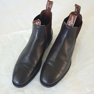 R. M. WILLIAMS Adelaide Chelsea Boots 6.5 E Made in Australia