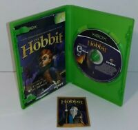 The Hobbit (Microsoft Xbox, 2003) Video Game With Trading Card Complete CIB LOTR