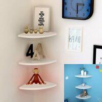 Corner Wall Shelf Shelves Floating Mounted Book Storage Rack Display Home Decor