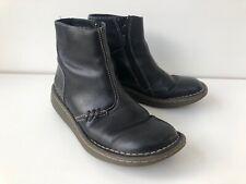 Womens Leather Black Dr Martens Ankle Boots Uk4 EU37