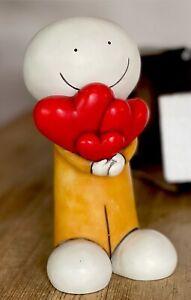 """Fabulous DOUG HYDE """"Gift of Love"""" Fine Art Cold Cast Porcelain SCULPTURE Lt Ed"""