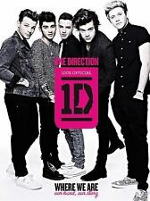 One Direction : Where We Are - Our Band, Our Story - 100% Official Hardcover