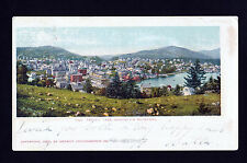 1902-03 over view Saranac Lake Adirondack Mountains New York postcard