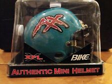 "Authentic XFL MEMPHIS MANIAX Mini Helmet ""BIKE"" Brand Metal Mask 2000"