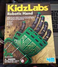 4M - KidzLabs - Robotic Hand - Build Your Own Robotic Human Hand - New Open Box