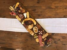 Large Acacia Wood Grazing Board / Platter - Food Safe - BRAND NEW