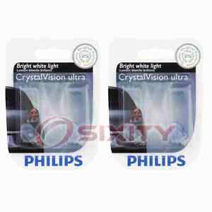 2 pc Philips Map Light Bulbs for Smart EQ fortwo Fortwo 2016-2019 Electrical xg