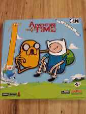 Adventure Time Jake & Finn Relaxing Iron/Sew On Patch TV Cartoon Network Anime