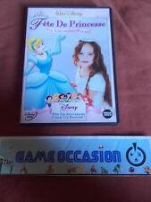 FETE DE PRINCESSE UN ANNIVERSAIRE MAGIQUE DVD DISNEY  PAL