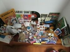 Junk Drawer Lot- Mens razor, coins,stamps, books,cig lighter,pictures,jewelry, +