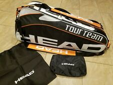 Head Tour Team Tennis Racquet Cct Climate Holds 6 Racquets Orange New w/o Tags