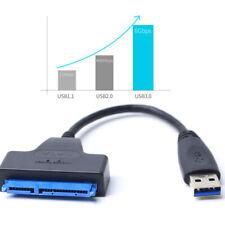 20cm USB 3.0 To SATA  2.5 Inch Hard Drive HDD SSD Adapter SATA Converter Cable