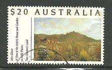 Album Treasures Australia Scott # 1135 John Glover Painting VFU CDS