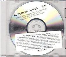 (DH679) Boy Omega, Halos - 2012 DJ CD