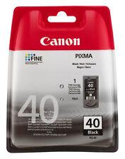 CANON PG40 CANON DRUCKER PATRONE PIXMA MP140 MP150 MP160 MP170 MP180 MP190 BLACK