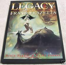 Rare Legacy by Frank Frazetta Hardcover HC w/ slipcase