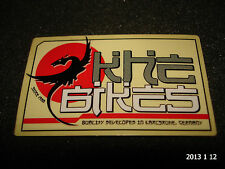 1 AUTHENTIC SMALL KHE BMX BIKES DEVELOPED IN GERMANY STICKER #5 DECAL