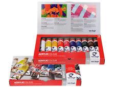 Van Gogh set de peinture couleur acrylique - 10 x tubes de 40ml