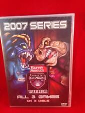 BRAND NEW - State Of Origin - 2007 Series All 3 Games - DVD AUS Free Postage