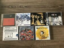 Radiohead 7 Cds Lot Live Recordings,airbag How Am I Driving, Pablo Honey.....