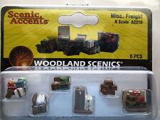 N Scale Woodland Scenics Misc Freight A2216 Nip B