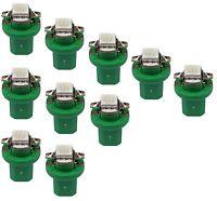 10x Grüne LED Tacho Lampe Leuchte B8.5d SMD Beleuchtung UMBAU SET GRÜN BAX10D
