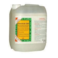 5 L (€18,90-/L) Insecticide 2000 Insektenschutz,Zeckenschutz Tier und Haushalt