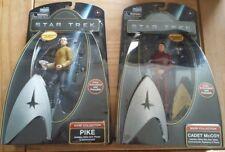 9 Star Trek Warp Collection Action Figures 2008 Movie