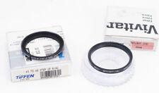 Tiffen 43mm-49mm Step-Up Ring + Vivitar 49mm Sky 1A Filter Nikon RF 50mm f1.4
