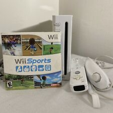 Nintendo Wii Gaming Console With Wii Sports! Gamecube Compatible White