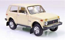 H0 BREKINA Lada Niva 1.7 i Geländewagen WAS 2121 beige Felgen Rückspiegel  27202