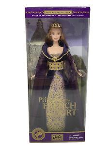 VTG Barbie Doll 2001 Princess of the French Court NIB NRFB