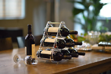 Wine rack for 6 Bottles Luxury Wine Rack Plexiglass Wine Holder Bottle Holder