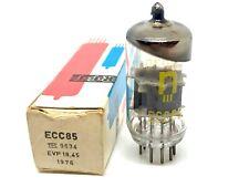 ECC85 6AQ8 RFT NOS Box Tube Valve Valvula Tested TV7/DU Very Good. NO Shorts Gas